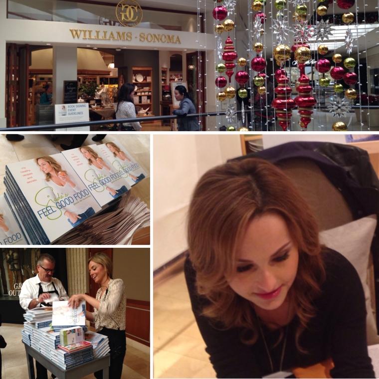 Celebrity Chef Giada De Laurentis Book Signing at Williams Sonoma in Costa Mesa